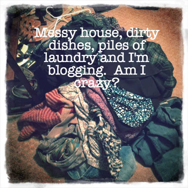 Blogging Messy House
