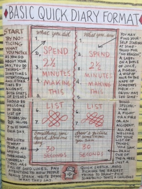 Lynda Barry's Quick Diary